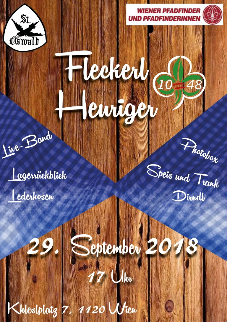 Flyer Fleckerlheuriger